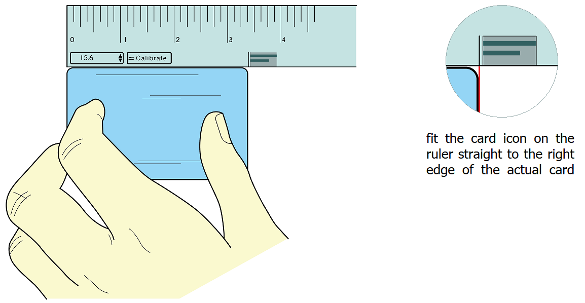 Actual Size Online Ruler Inches Cm Mm Measure Something